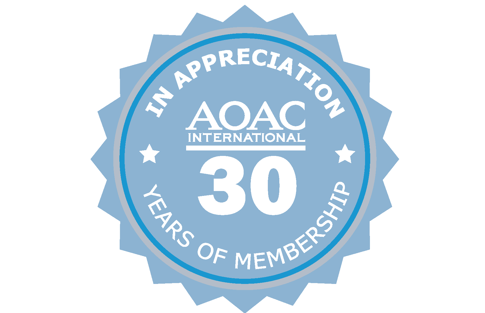 30 Year Membership Pin