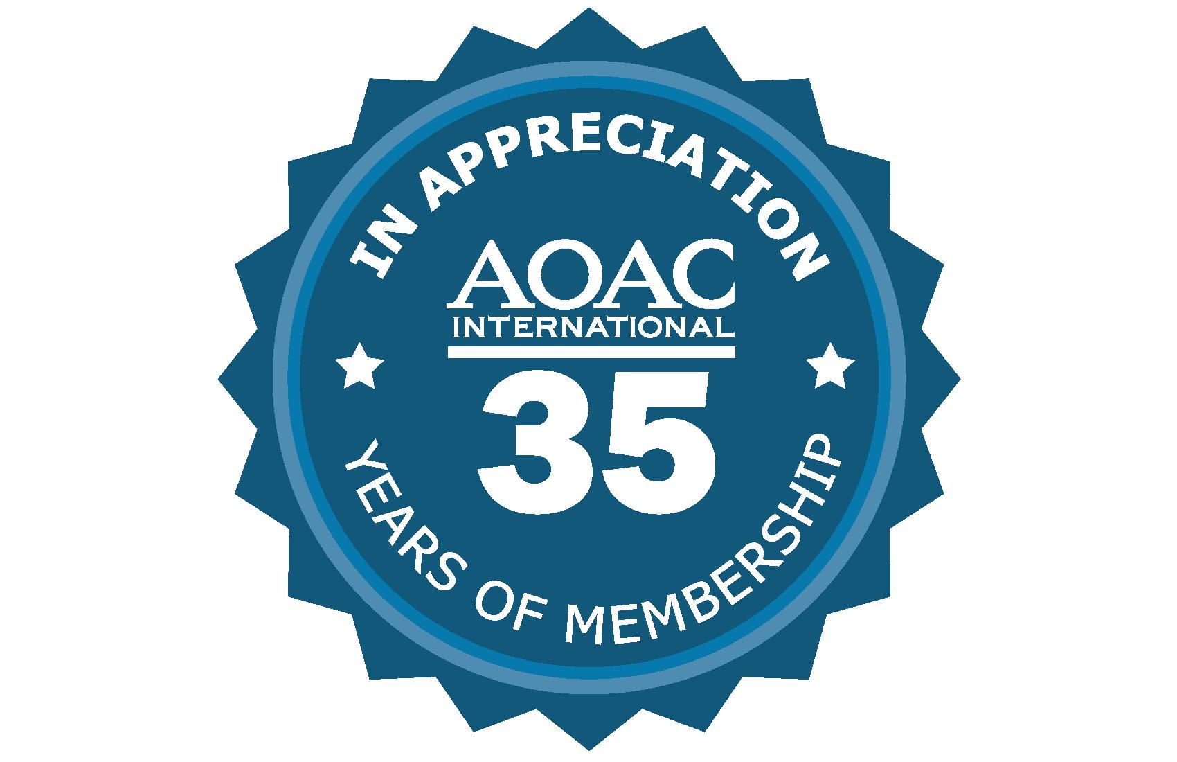 35 Year Membership Pin