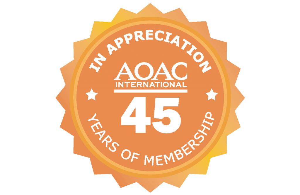 45 Year Membership Pin